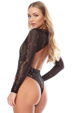Muva Bodysuit- Black