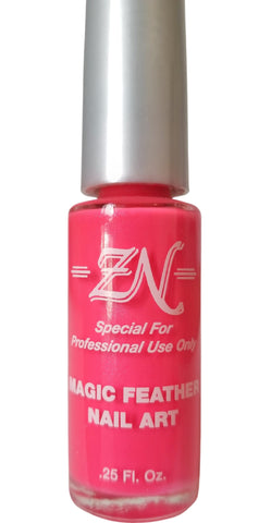 Magic Feather Nail Art - Hot Pink - Tru-Form Nails & Cosmetics