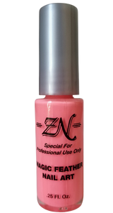 Magic Feather Nail Art - Pink - Tru-Form Nails & Cosmetics