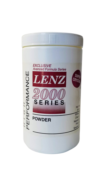 Lenz 2000 Series Super Crystal Acrylic Powder - Tru-Form Nails & Cosmetics