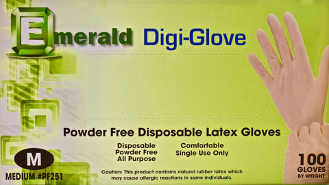All Purpose Latex Gloves - Tru-Form Nails & Cosmetics