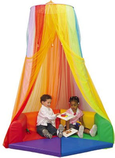 Rainbow Retreat Canopy for Kids (Shown with The Retreat Hollow- Sold Separately)