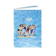 JYP TWICE - Summer Nights [A ver.] (2nd Special Album) CD+Photobook+Photocards+Folded Poster+Free Gift