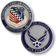 Homestead Air Reserve Base Challenge Coin
