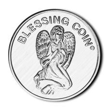 Angelstar 1295 Blessing Coin, 1-1/4-Inch