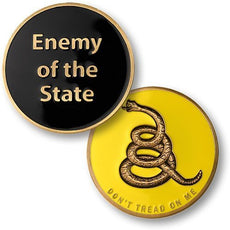 Enemy of the State Challenge Coin
