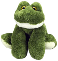 "Purr-Fection Lilly Junior Snuggle Ups Frog 8"" Plush"