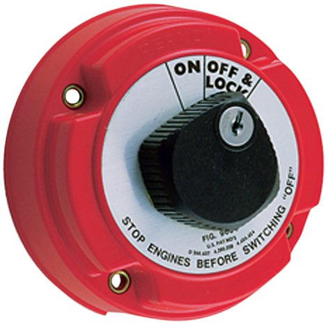 Perko 9602dp Marine Locking Battery Disconnect Switch Afd