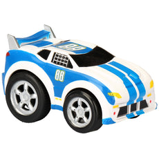 "Kid Galaxy Pull Back 'n Roll Race Car. Wind Up Toy Vehicle for Boys, Girls & Toddlers Age 2 & Up Vehicle, 4"" x 3"" x 3"""