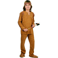 American Indian Brave Kids Costume Child X-Small 4-6X