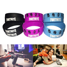 Video Game Party Supplies Bracelets - Gamer Birthday Party Favors Gifts Set for Kids - Glow in the Dark(12pack)