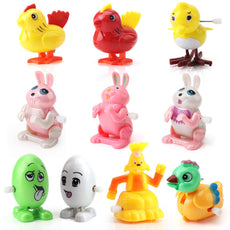 Amy & Benton Assorted Wind up Toys for Toddlers 10PCS Wind-up Chicks, Bunnies and Eggs for Preschool Kids