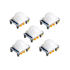 OctagonStar HC-SR501 Adjust Ir Pyroelectric Infrared PIR Motion Sensor Detector Modules(5PCS)