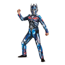 Disguise Optimus Prime Movie Classic Costume, Blue, Small (4-6) Small (4-6)
