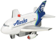 Daron Pullback Alaska Airlines Toy with Light and Sound