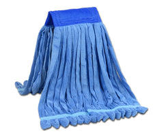 Microfiber Tube Mop Head Looped End Wet Mop Head Refill | Light-weight and Durable | For Home, Commercial And Industrial Use