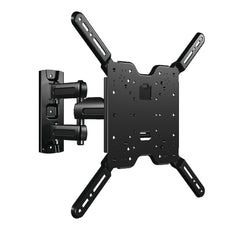 "SANUS Vuepoint Full Motion TV Wall Mount Bracket for 37-80"" TVs - Includes 10' HDMI, Surge Protector, Cable Ties and More - FLF215KIT"