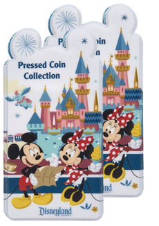 Mickey Mouse and Friends Pressed Coin Collection Holder - Disneyland (2) 2