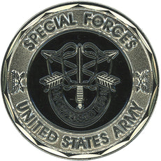 Special Forces US Army Coin Collectible Coins Veteran Gifts for Men Women Teens