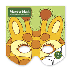 Mudpuppy Jungle Animals Make-a-Mask