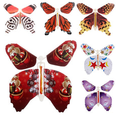 Magic Flying Butterfly Card Surprise Letters Books Funny Mother's day Gifts 6 Pcs Set