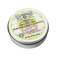 J.R. Watkins Hand & Cuticle Salve, Aloe & Green Tea, 2.1-Ounce Tins (Pack of 4)