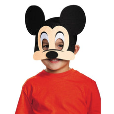 Disguise - Mickey Mouse Mask Black/Nude/Multicolor One Size - Child