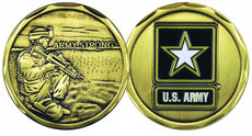 U.S. Army Strong Challenge Coin
