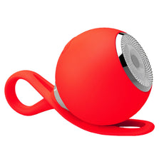 Funsparks EBSP1000-R - 2 In 1 Wireless Bluetooth Speaker Or MP3 Player - Water-Resistant, Portable, Mini (Red)