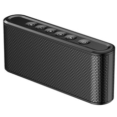 Poliking Touch Control Wireless Bluetooth V4.2 Portable Stereo Speaker with HD Sound and Powerful Bass (Black) Black