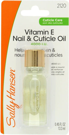 Sally Hansen Vitamin-E Nail & Cuticle Oil (3 Pack)