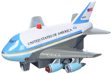 Daron Air Force One Pullback Plane with Light and Sound