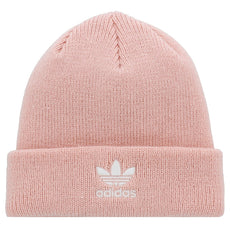 Adidas Womens Originals Trefoil Ii Knit Beanie Ice Pink One Size