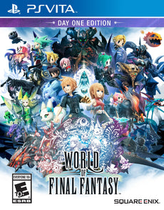 World of Final Fantasy - PlayStation Vita Disc Standard