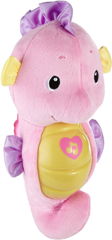 Fisher-Price Soothe & Glow Seahorse, Pink Frustration Free Packaging