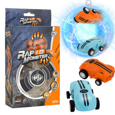 Speed Stunt Car, Toy with LED Light, 360 °Rotation Focus Anxiety Stress Relief Boredom Killing Time Toys for Adults and Kids(2 Cars)
