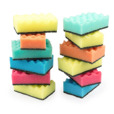 Kitchen sponges pack of 12 Cleaning sponge, Scrubbing sponge, Dish sponge, Multi-use sponge