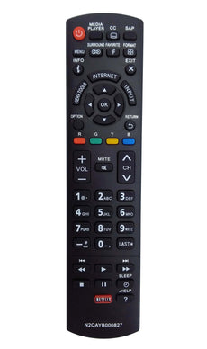 New N2QAYB000827 Replaced Remote fit for Panasonic Plasma TVs TC-50PS64 TC-65PS64 TC-P42S60 TC-P50S60 TC-P55S60 TC-P60S60 TC-P65S60