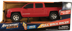 Adventure Force Pull Back Racer - Black Chevy Silverado Z71 Truck