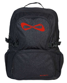 Nfinity Backpack Sparkle Black/Red