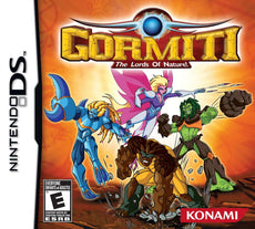 Gormiti: The Lords of Nature! - Nintendo DS Box