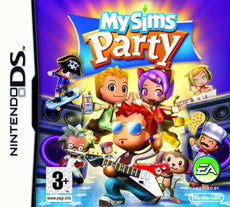 MySims Party - Nintendo DS Box