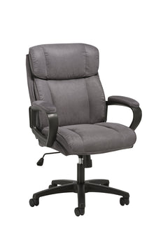 Essentials Executive Chair - Mid Back Office Computer Chair (ESS-3082-GRY) Gray