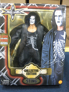 WCW Sting 8 Inch Deluxe Boxed Action Figure by Toy Biz