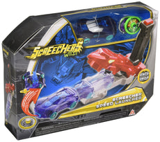Screechers Wild - Screecher Speed Launcher Toy Vehicle, Blue, 10'' x 5''