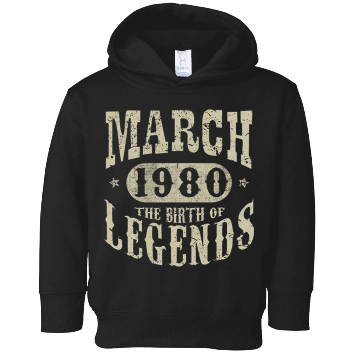 38 Years Old 38th Birthday March 1980 Birth Of Legend T Shirt