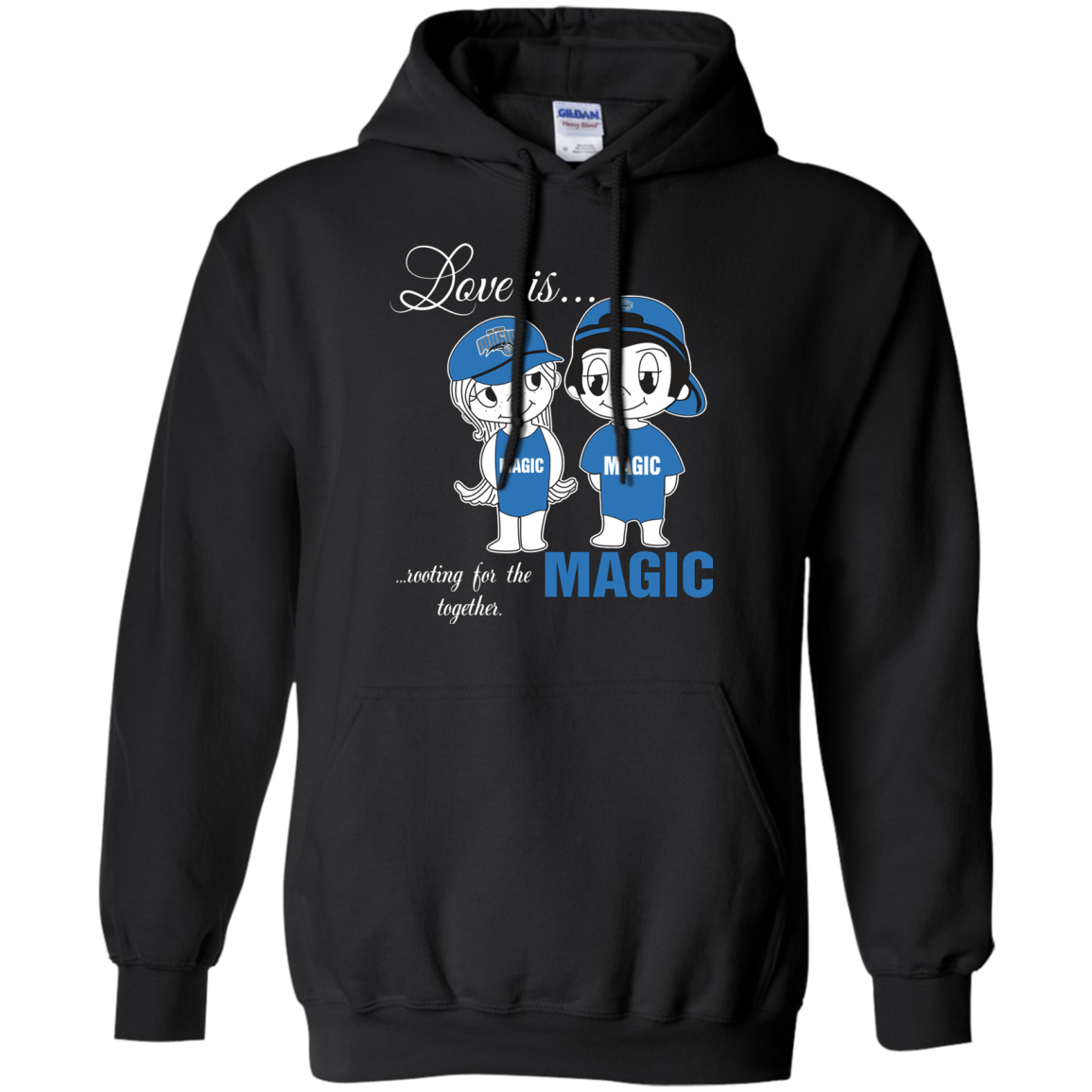 Love Is Rooting For The Orlando Magic Basketball Together S S T Shirt