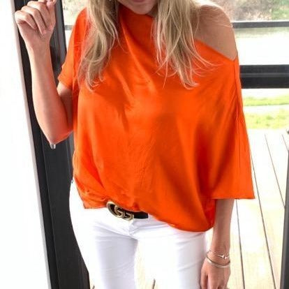 Heidi Houston Audrey Off the Shoulder Top