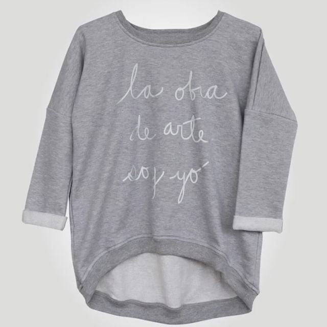 Las Mothers La Obra Glow in the Dark Grey Sweatshirt IAH