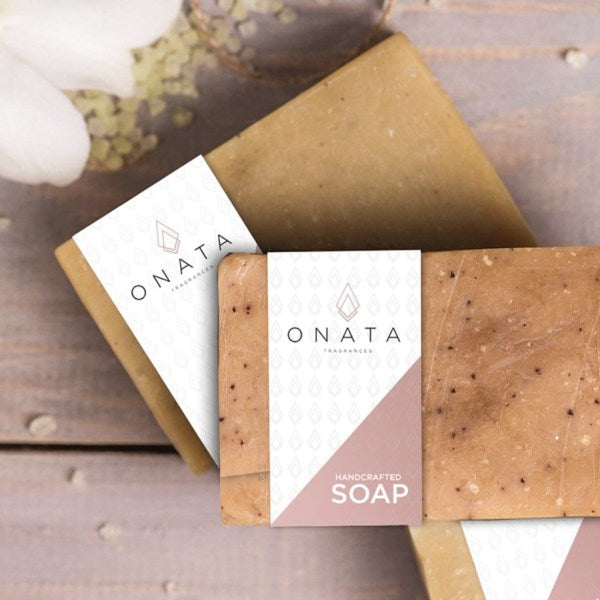 Onata Hand Cut All Natural 6oz Soap Bar